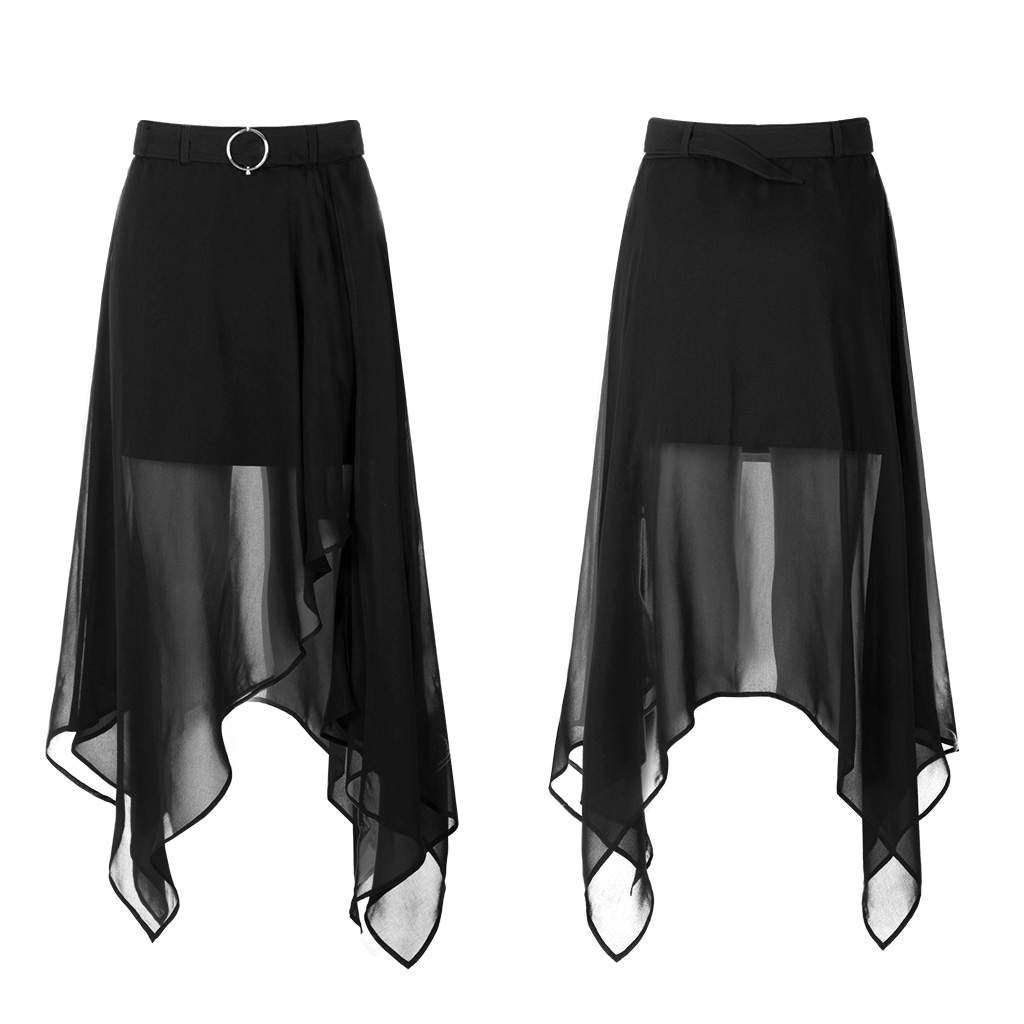 Punk Rave Solstice Chiffon Skirt - Kate's Clothing