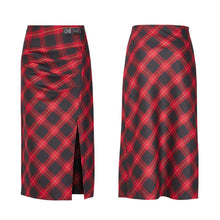 Load image into Gallery viewer, Punk Rave Plus Size Tulia Tartan Skirt - Kate's Clothing