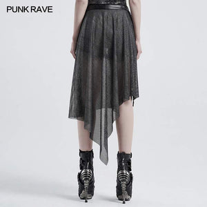 Punk Rave Wynona Mesh Train Belt - Kate's Clothing