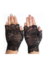 Load image into Gallery viewer, Pyon Pyon Odette Lace Fingerless Gloves - Kate's Clothing