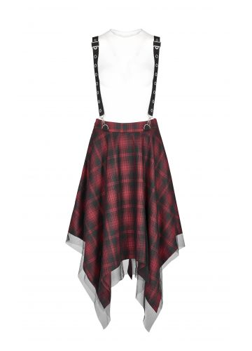 Punk Rave Plus Size Vivienne Skirt - Kate's Clothing