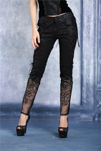 Dark In Love Gothic Bijou Trousers - Kate's Clothing