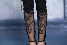 Load image into Gallery viewer, Dark In Love Gothic Bijou Trousers - Kate's Clothing