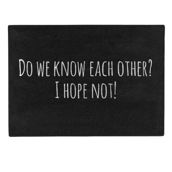 Pechkeks Doormat - Do We Know Each Other - Kate's Clothing
