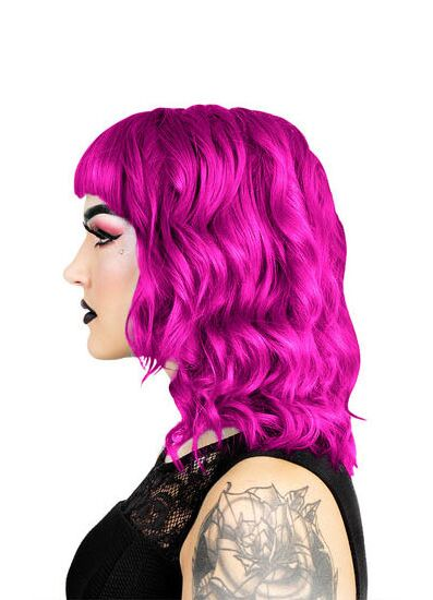 Herman's Amazing Direct Hair Colour - UV Peggy Pink