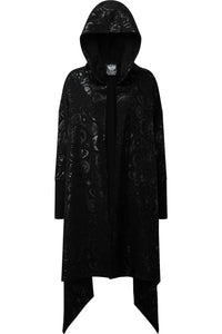 Killstar Demon Hooded Cardigan - Kate's Clothing
