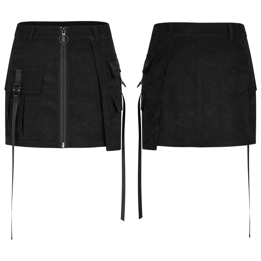 Punk Rave Erma Mini Skirt - Kate's Clothing