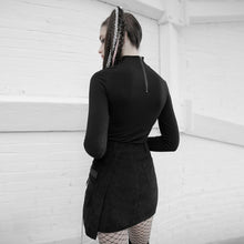 Load image into Gallery viewer, Punk Rave Erma Mini Skirt - Kate's Clothing