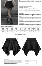 Load image into Gallery viewer, Punk Rave Lola Skirt - Kate's Clothing