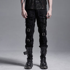 Punk Rave Mens Odin Trousers - Kate's Clothing
