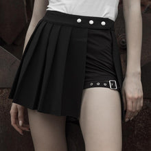 Load image into Gallery viewer, Punk Rave Plus Size Cyradis Mini Skirt - Kate's Clothing