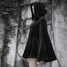 Load image into Gallery viewer, Punk Rave Phoebe Hooded Cloak - Kate's Clothing