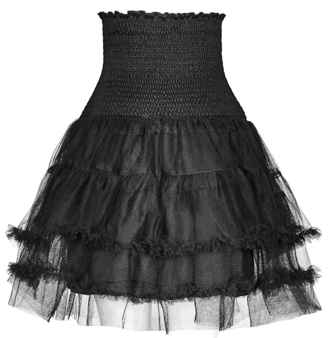 Punk Rave Reagan Pettiskirt - Kate's Clothing
