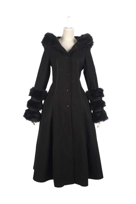 Pyon Pyon Plus Size Polgara Reversible Coat