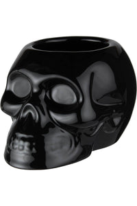 Killstar Black Skull Planter - Kate's Clothing