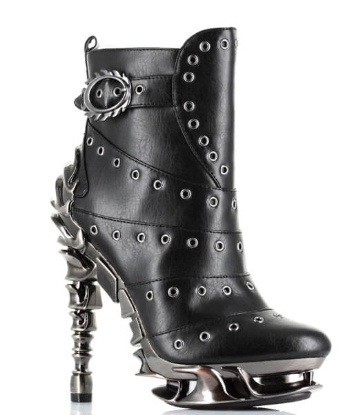 Hades Raven Boots - Kate's Clothing