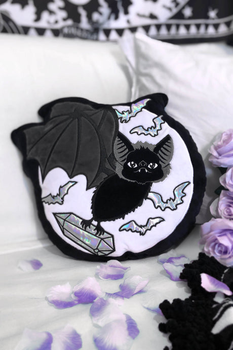 Killstar Rick Bat Cushion