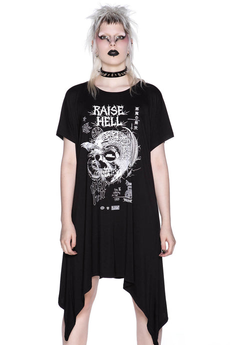 Killstar Rise Up Tunic Dress - Kate's Clothing