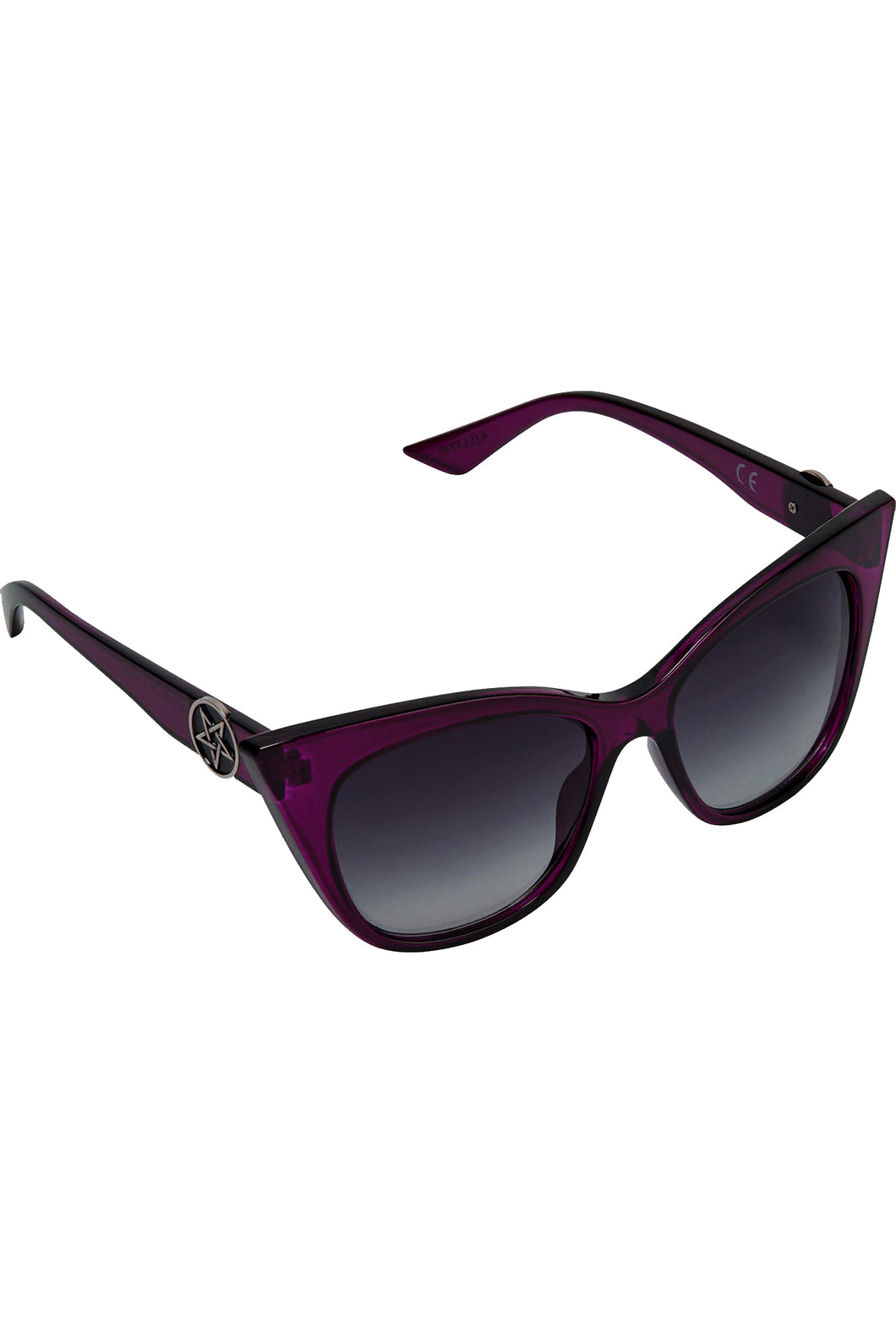 Killstar Rayz Up Sunglasses - Plum - Kate's Clothing