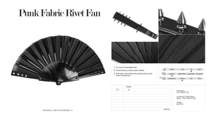 Punk Rave Rivet Fan