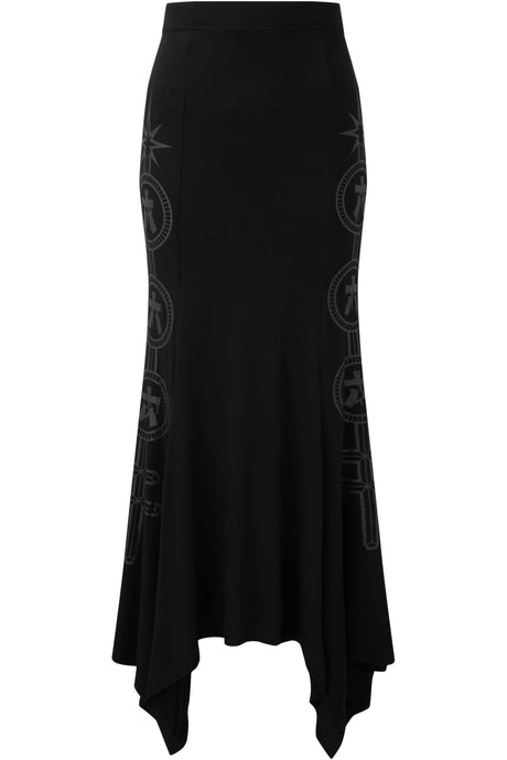 Killstar Sigil Maxi Skirt - Kate's Clothing