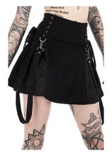 Load image into Gallery viewer, Killstar Sinister Scouts Mini Skirt - Kate's Clothing