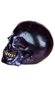 Gothic Gifts Violet Iridescent Skull - Kate's Clothing