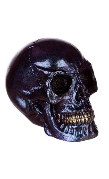 Gothic Gifts Violet Iridescent Skull