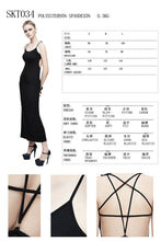 Load image into Gallery viewer, Devil Fashion Pentagram Strap Dress - Kate's Clothing