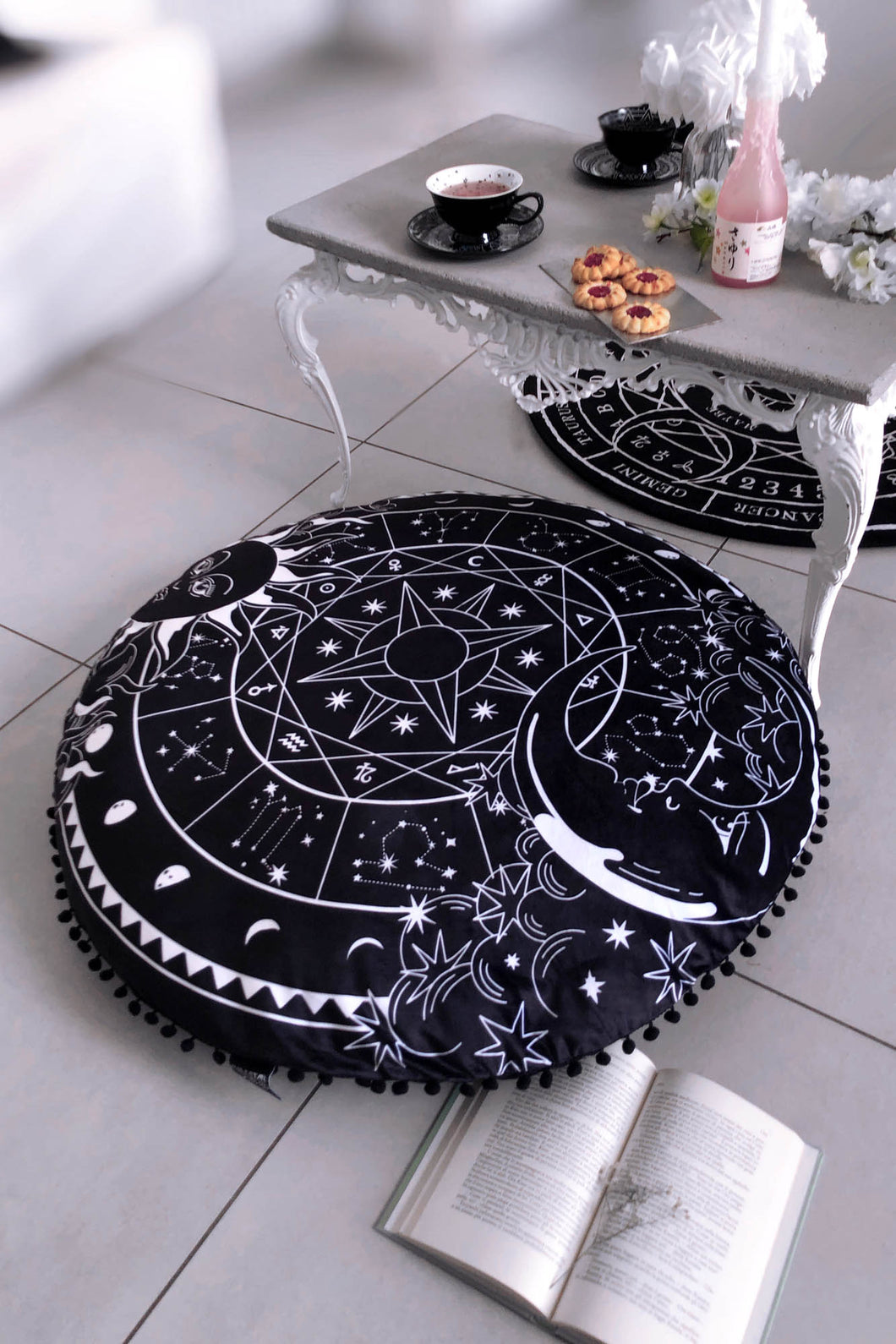 Killstar Sky Spirit Floor Cushion - Kate's Clothing