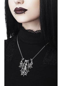 Killstar Sleepy Rose Necklace - Kate's Clothing