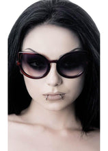 Load image into Gallery viewer, Killstar Space Kitty Cherry Red Sunglasses