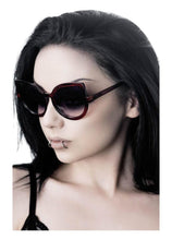 Load image into Gallery viewer, Killstar Space Kitty Cherry Red Sunglasses - Kate's Clothing