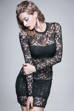 Load image into Gallery viewer, Devil fashion Rose lace Dress - Kate's Clothing
