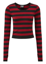 Load image into Gallery viewer, Killstar Stacy Blood Red Layering Top - Kate's Clothing