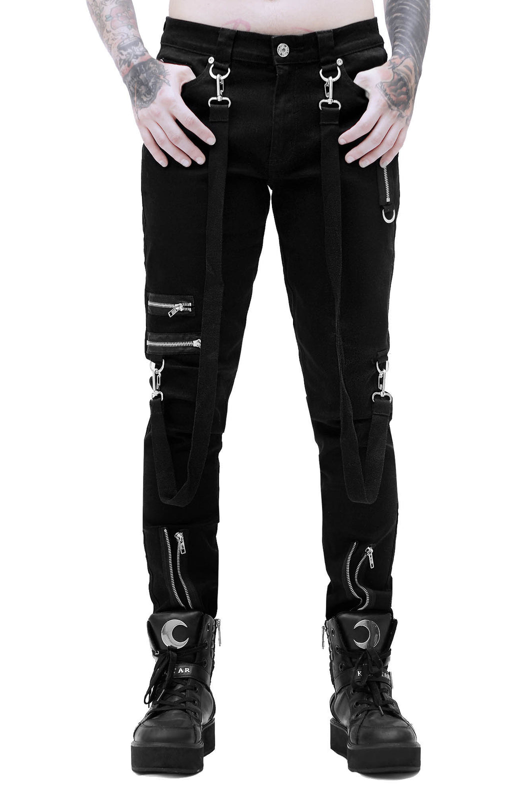 Killstar Mens Steele Bondage Pants