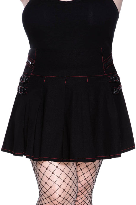 Killstar Sweet Oblivion Mini Skirt Plus Size - Kate's Clothing
