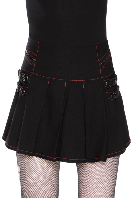 Killstar Sweet Oblivion Mini Skirt - Kate's Clothing