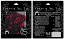 Load image into Gallery viewer, Blood Rose Face Mask - Kate's Clothing