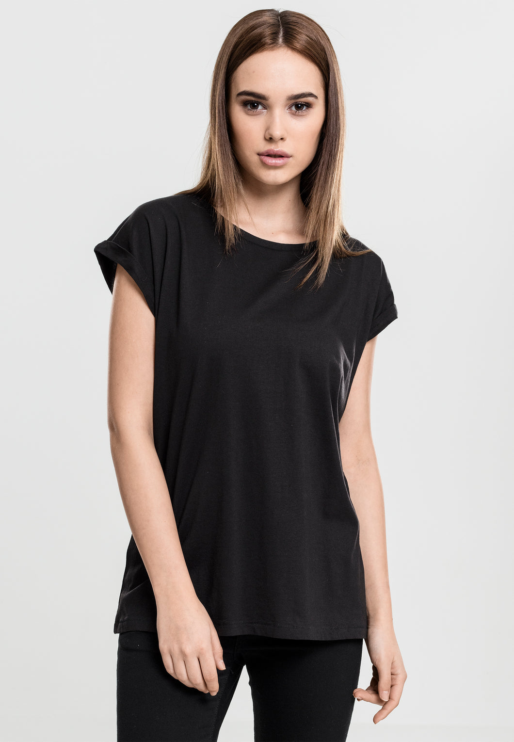 Gothic Attitude Extended Shoulder Tee - Kate's Clothing