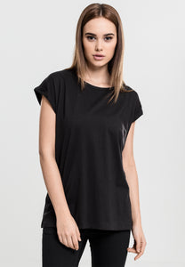 Gothic Attitude Plus Size Extended Shoulder Tee