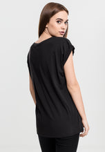 Load image into Gallery viewer, Gothic Attitude Plus Size Extended Shoulder Tee - Kate's Clothing