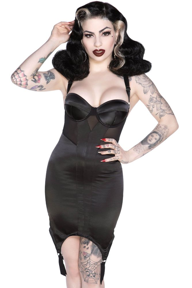 Killstar Tease Bodycon Dress - Kate's Clothing