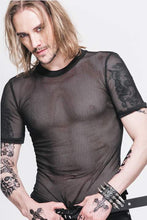 Load image into Gallery viewer, Devil Fashion Mens Fishnet Tee - Kate's Clothing