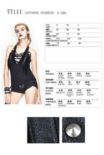 Load image into Gallery viewer, Devil Fashion Tassel Halter Top