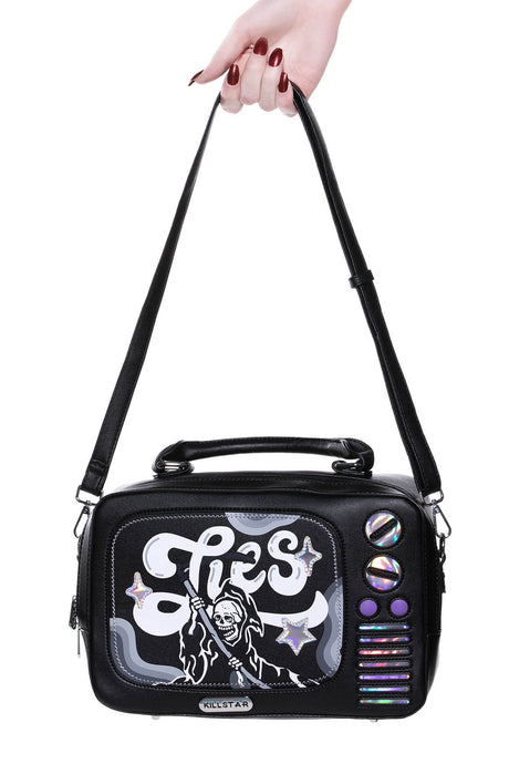 Killstar TV Lies Handbag - Kate's Clothing