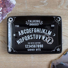 Load image into Gallery viewer, Gothic Gifts Black Talking Board Trinket Dish - Kate's Clothing