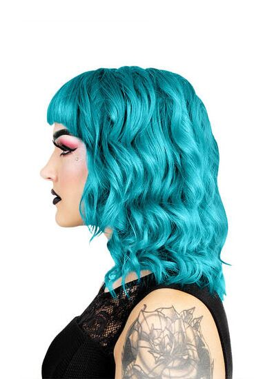 Herman's Amazing Direct Hair Colour - Pastel Thelma Turquoise - Kate's Clothing