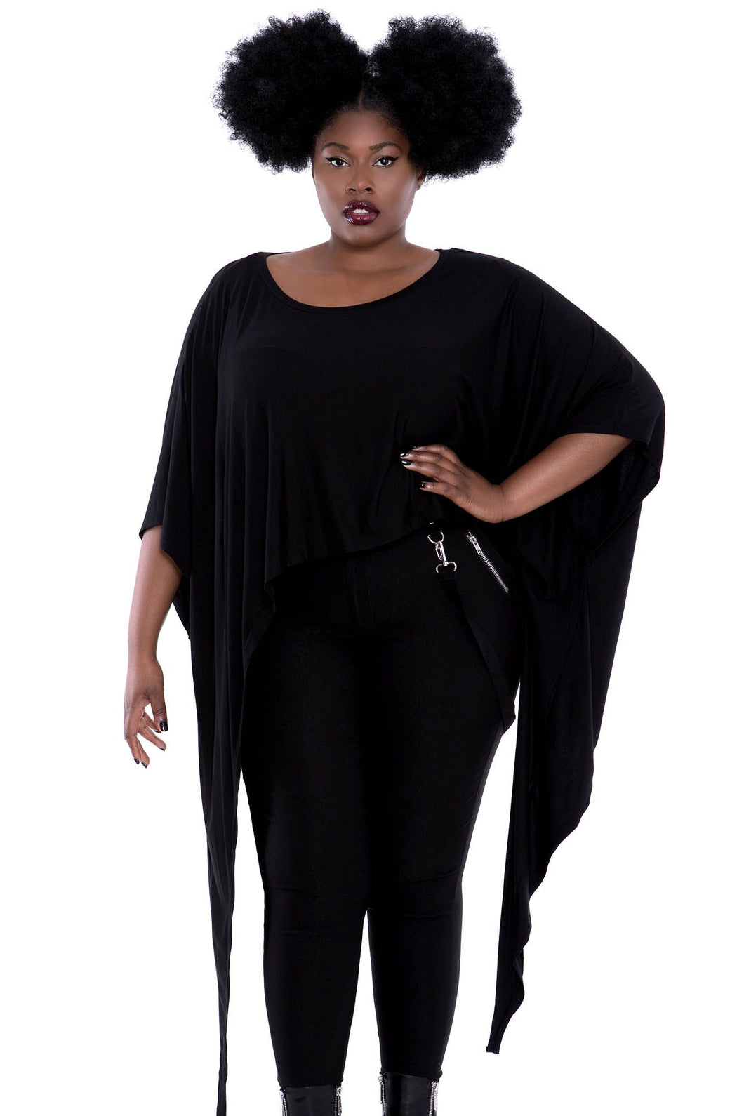 Killstar Plus Size Celestial Bodies Top - Kate's Clothing