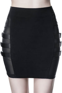 Killstar Trax Mini Skirt - Kate's Clothing